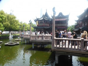 Auf dem Weg zum Yuyuan Garden