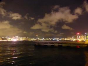 Kowloon bei Nacht