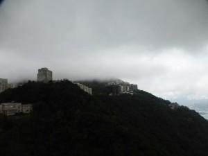 Fast in den Wolken auf dem Victoria Peak