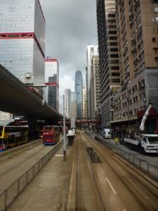 Unterwegs mit der Straßenbahn