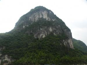 Karstfelsen am Li Fluss