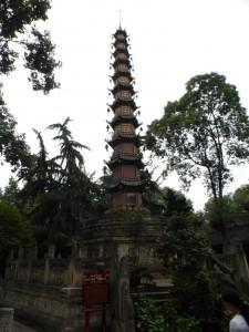 Pagode in der Wenshu Monastry