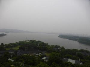 Blick auf den West Lake