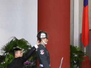 Abtupf-Service für schwitzende Garde