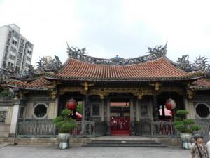 Der Mengjia Longshan-Tempel