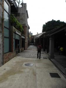 Auf dem Weg zum Ximen Stadtviertel