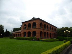 Das Fort in Tamsui