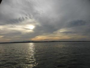 Insel Hopping: Sonne und Wolken