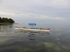 Boot vor Siargao