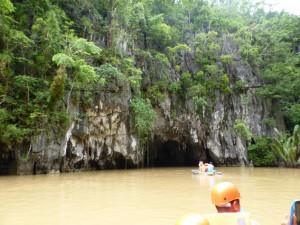 Der Eingang zur Höhle