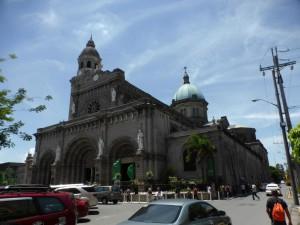 Eine Kirche im Stadteil Intramuros