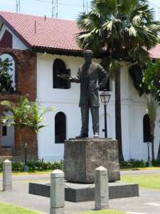 Rizal im Spanischen Fort
