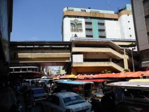 Ein Markt nahe Chinatown