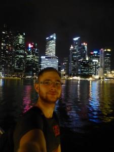 Skyline Singapore und ich