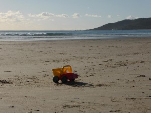 Am Strand in Byron Bay