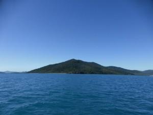 Eine Insel in den Whitsundays