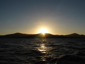 Sonnenuntergang in den Whitsundays