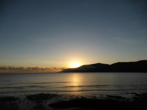 Sonnenaufgang in Cairns