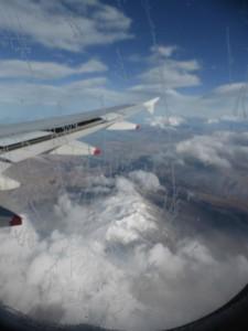 Auf dem Flug nach Neu Seeland (Mount Cook)
