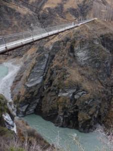 Skippers Canyon und ehemalige Bunjee Jumpig Brücke