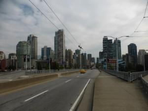 Blick auf Downtown