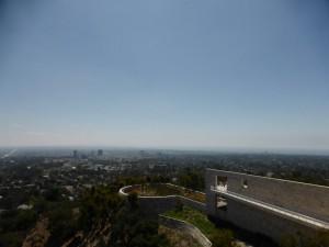 Blick auf LA vom Getty Center