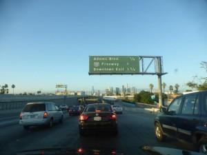 Typischer Verkehr in LA