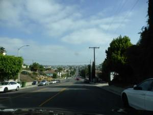Fahrt durch LA