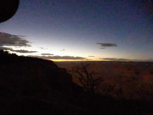 Nachts im Grand Canyon