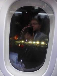 Fenster im Dreamliner B787