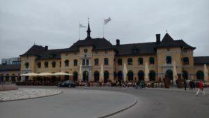 Bahnhof in Uppsala