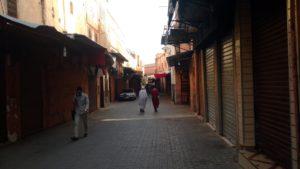Frühmorgens in der Medina