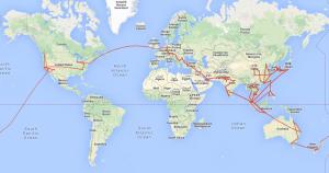 Route Worldtrip